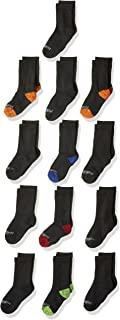 Fruit of the Loom Boys' 13-Pack Everyday Soft Crew Socks