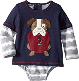 Puppy Long Sleeve One-Piece Crawler (Infant)