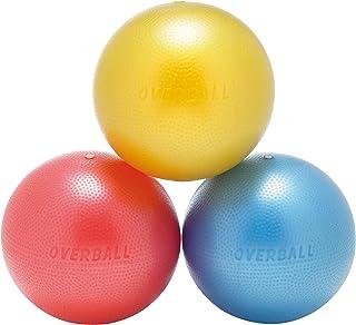 Pelota de ejercicios de 25cm, azul, rojo, amarillo, para yoga, gimnasia, pilates