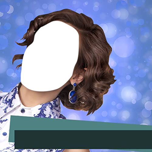 Short Hairstyle Photo Montage