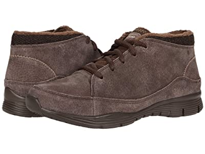 SKECHERS Seager Home Team (Chocolate) Women
