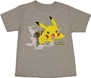 Pokemon Boys' Pikachu Pika Burst Tee