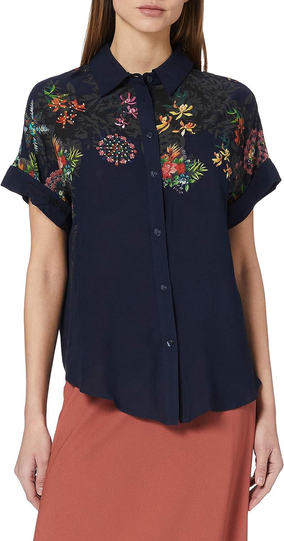 Desigual Women's Woman Woven Shirt Short Sleeve