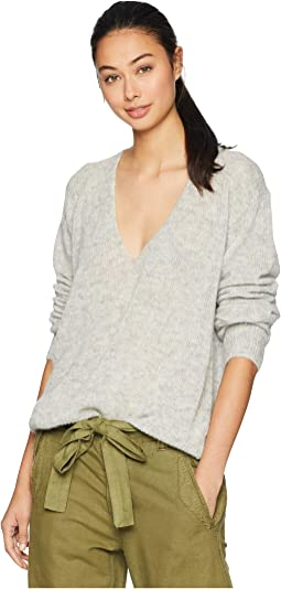 Free People Lofty V Neck Shipped Free At Zappos