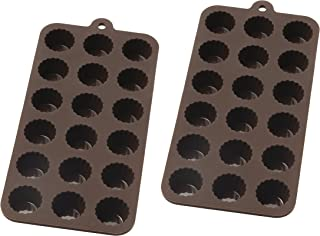 Mrs. Anderson's Baking 43766/2 Cordial Chocolate Mold Set of 2 Brown