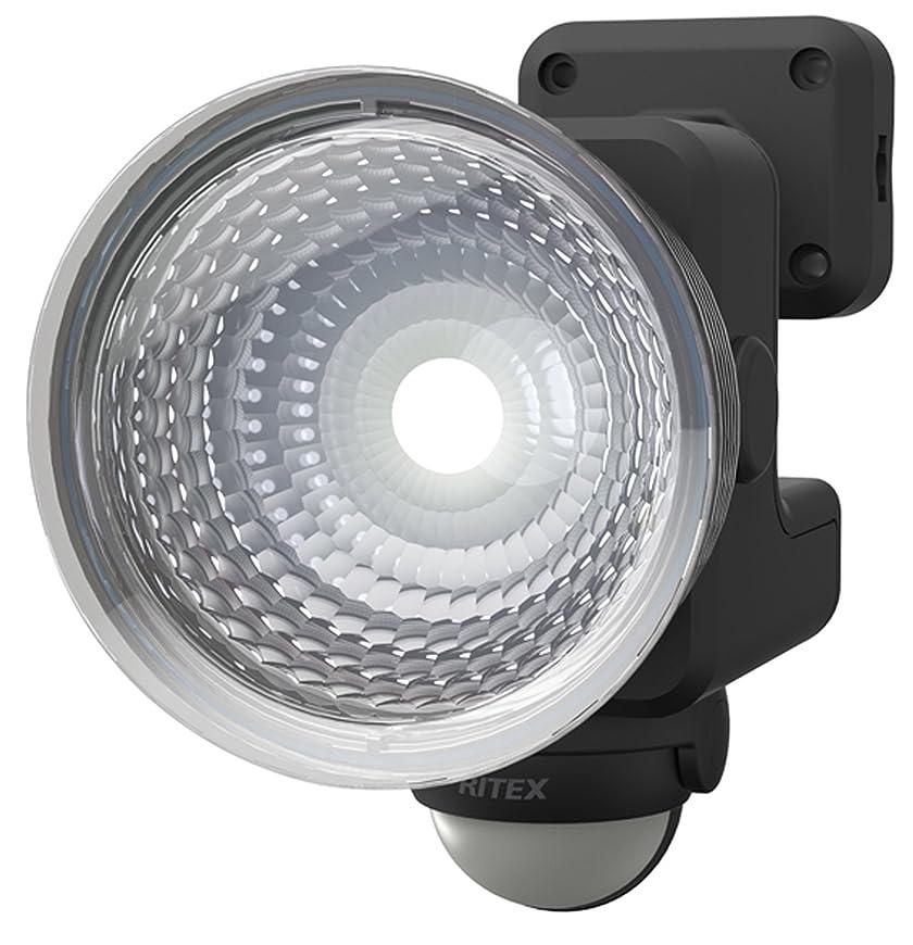 バーターなんでも何十人もムサシ RITEX フリーアーム式LEDセンサーライト(1.3W×1灯) 「乾電池式」 防雨型 LED-115