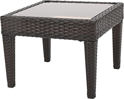 Christopher Knight Home Antibes PE Accent Table, Multibrown