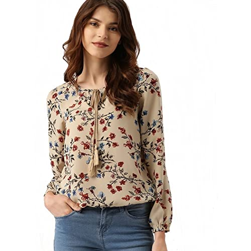 ec355fbed00 Floral Print Tops  Buy Floral Print Tops Online at Best Prices in ...