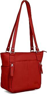 WILDHORN Leather Ladies Tote Bag   Shoulder Bag   Hand Bag for Girls & Women