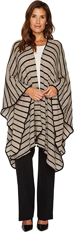 Striped Oversize Cover-Up