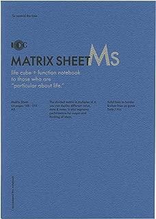 A5 ファンクションノート MATRIX SHEET(マトリックスシート) NOTE-A5F-20