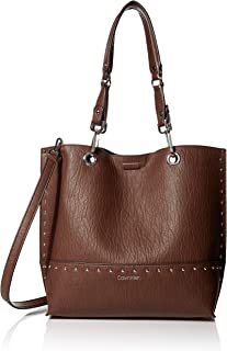 Calvin Klein womens Calvin Klein Sonoma Reversible Novelty Studded North/South Tote