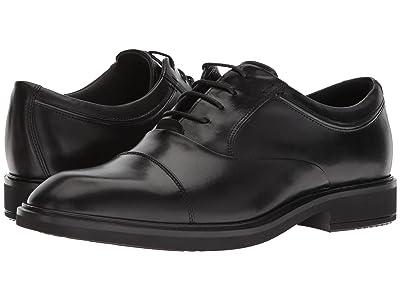 ECCO Vitrus II Cap Toe Tie (Black) Men