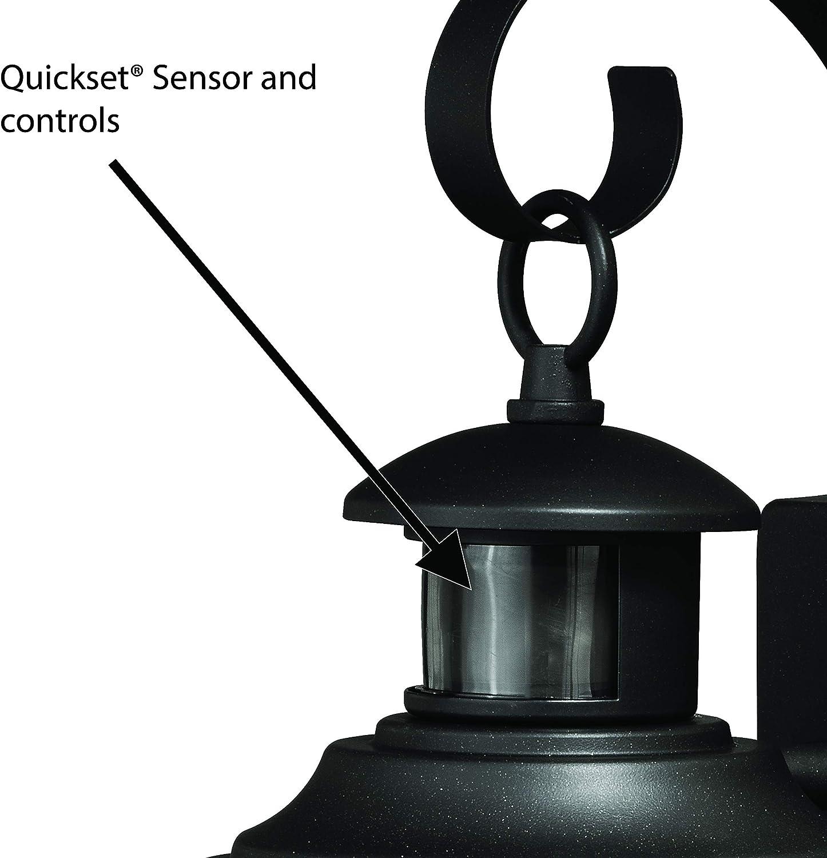 Melbourne Bronze LED Motion Sensor Dusk to Dawn Coastal Outdoor Wall Light