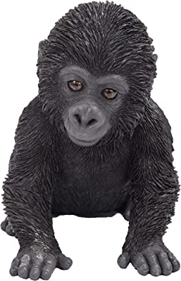 Baby Gorilla Zoo Pet Pal Ornament By Vivid Arts