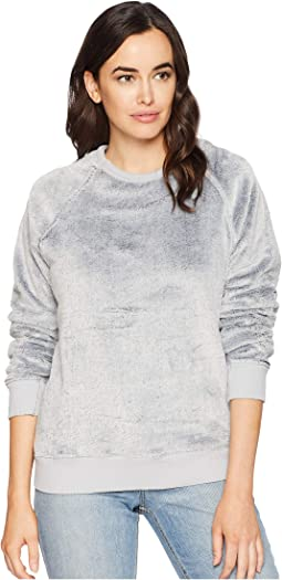 Sparrow Softest Fleece Fur Raglan Sweatshirt
