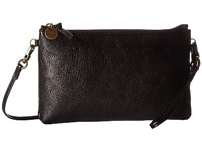 The Sak Acero Clutch by The Sak Collective (Black Onyx) Clutch Handbags