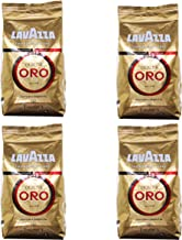 Lavazza Kaffee Qualita Oro, ganze Bohnen, Bohnenkaffee, 4er