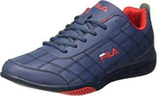 Fila Men's Sterling II Wht and Rd Sneakers
