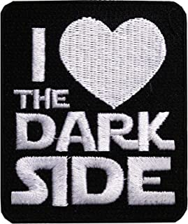 Star Wars Official 'I Love The Dark Side' Darth Vader Lucasfilm Iron On Patch