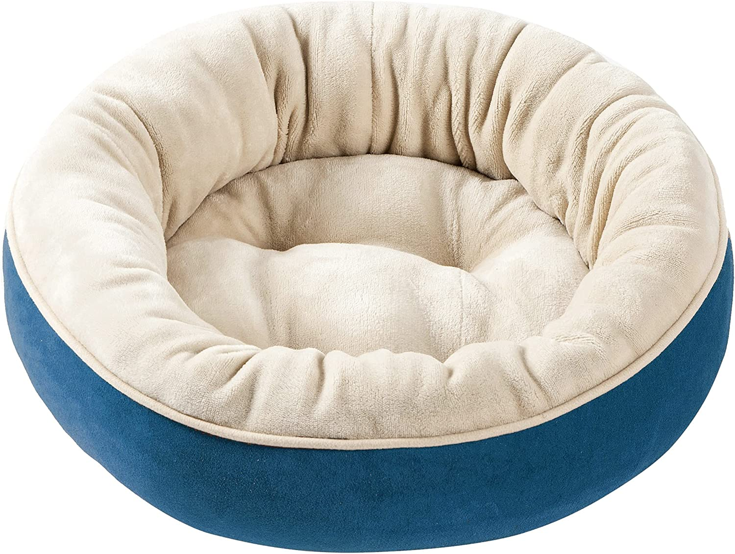 Perodo Round Bolster Dog or Mesa Mall overseas Cat Pet Donut Bed Supplies M
