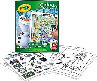 Crayola - Album de coloriage et autocollants la Reine des Neiges 2 - Loisir créatif - washimals - Color N wash - à partir ...