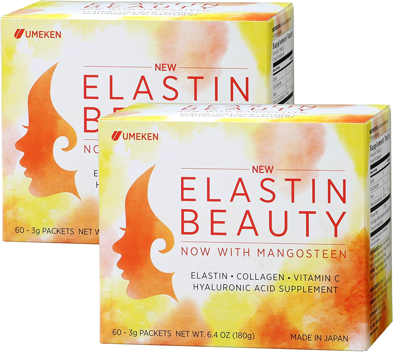 Umeken Elastin Outstanding Beauty Powder Collagen Supplement Superior with Peptides