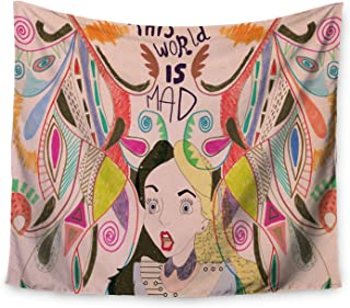 KESS InHouse Vasare NAR Alice in Wonderland Wall Tapestry, 68
