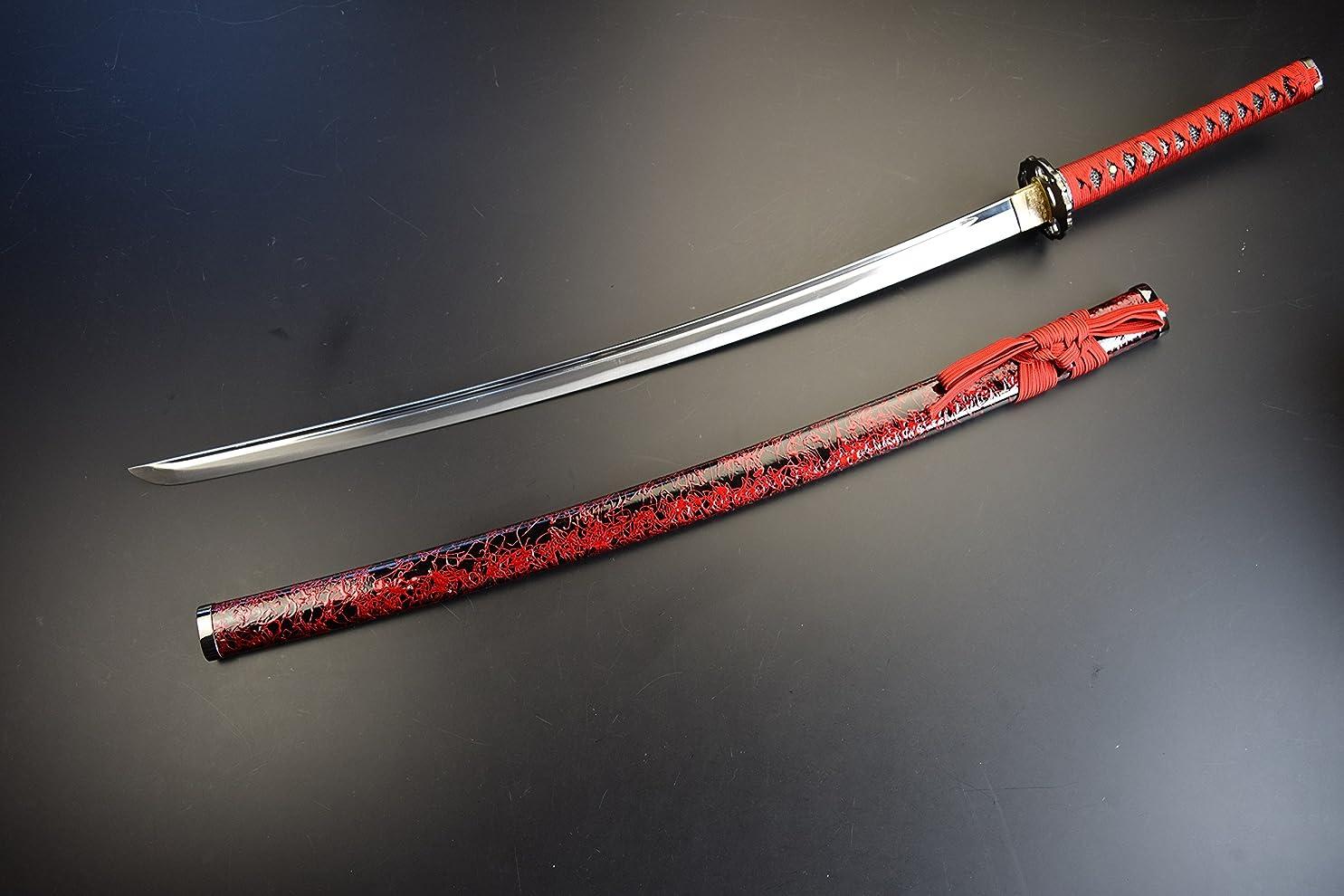 見落とす専門赤模造刀-美術刀剣-関 千子村正 【通常版】