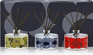Orla Kiely Zestaw dyfuzorów kwiatów Midnight 3 x 30 ml