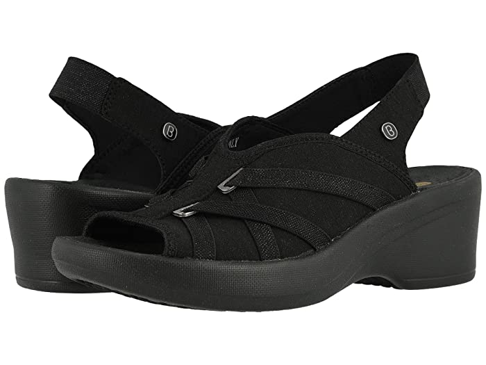 Bzees  Firefly (Black Jersey Knit) Womens Shoes