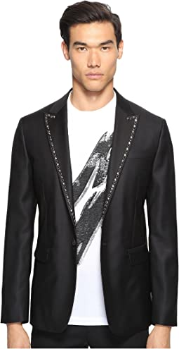 Glam Rock Silk Wool Blazer
