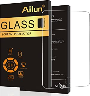 Ailun Screen Protector Compatible with New iPad 9.7 2017/2018 model and iPad Air 1&2,Tempered Glass [Apple Pencil Compatible],9H Hardness,2.5D Edge,Case Friendly