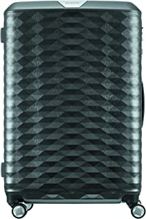 Samsonite 111638 Polygon Hard Side Spinner Suitcase, Dark Grey, 75 Centimeters