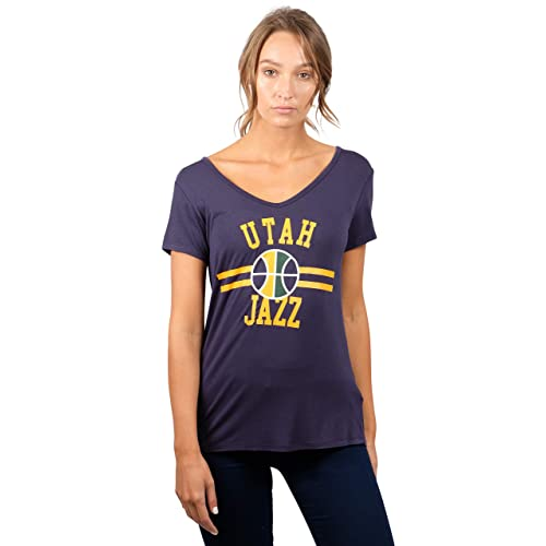 9f2f189e8156 UNK NBA Women s T-Shirt V-Neck Relaxed Short Sleeve Tee Shirt