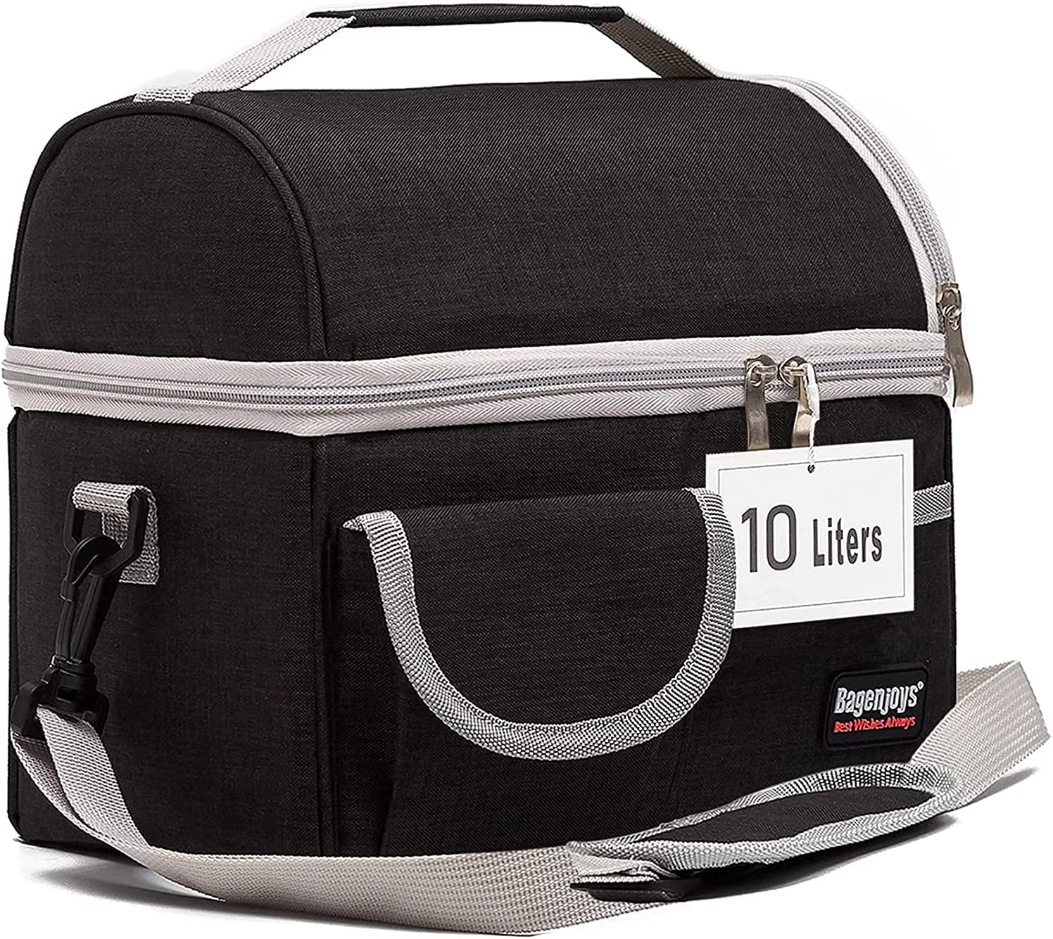 Lunch Bag Insulated Dual Spasm price Compartments Regular discount Men and Wome for Box
