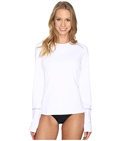 Prana Eileen Rash Guard (White) Women