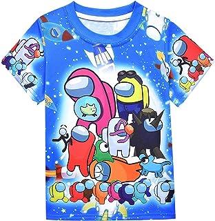 قمصان أطفال للأولاد من بين الولايات المتحدة بأكمام قصيرة عادية أزياء الصيف