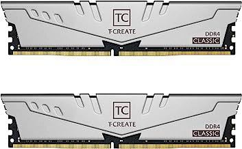 TEAMGROUP T-Create Classic 10L DDR4 16GB Kit (2 x 8GB) 3200MHz (PC4 25600) CL22 Desktop Memory...