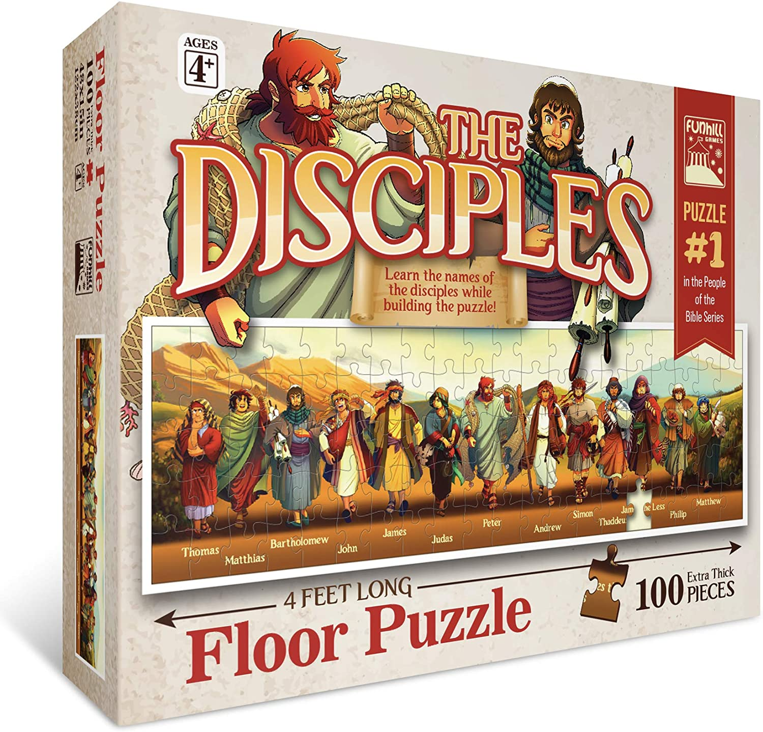 The Disciples 2021new Max 44% OFF shipping free 100pc Puzzle Floor
