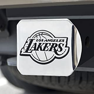 FANMATS 14969 NBA Los Angeles Lakers Chrome Hitch Cover