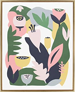 Kate and Laurel Sylvie Wall Art, 28x36, Gold