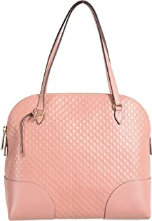 Gucci 100% Leather Pink Women's Shoulder Bag