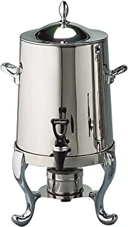 Elegance Silver 89851 Stainless Steel Coffee Urn, 55 Cup