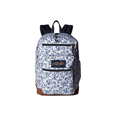 JanSport Cool Student (White Field Floral) Backpack Bags