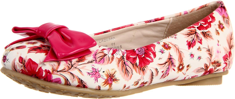 Manufacturer OFFicial shop Laura Ashley Girl's Luxury Floral Little Kid Print Flat
