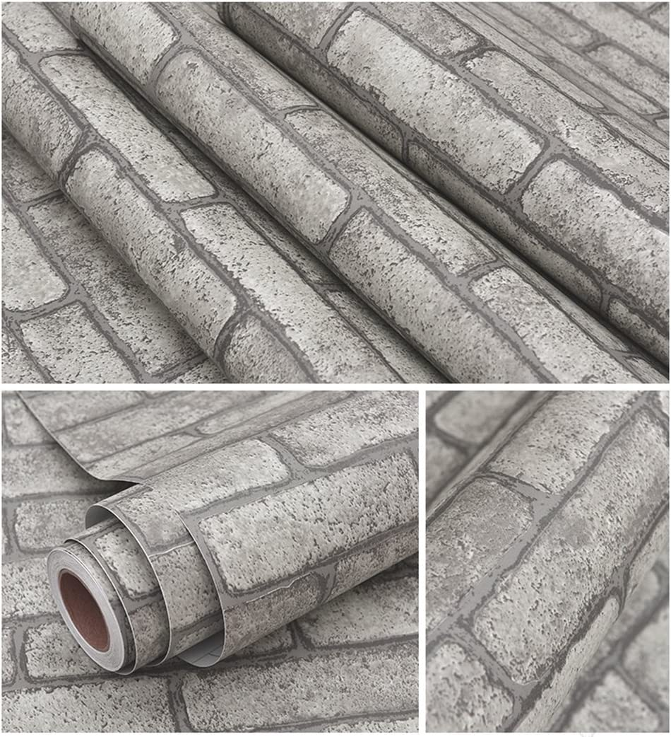 5 SHEETS vinyl pvc matt self adhesive  stone brick 21cm x29cm each sheet SCALE 112     free shipping