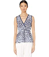 Sportmax - Graphic Print Peplum Top
