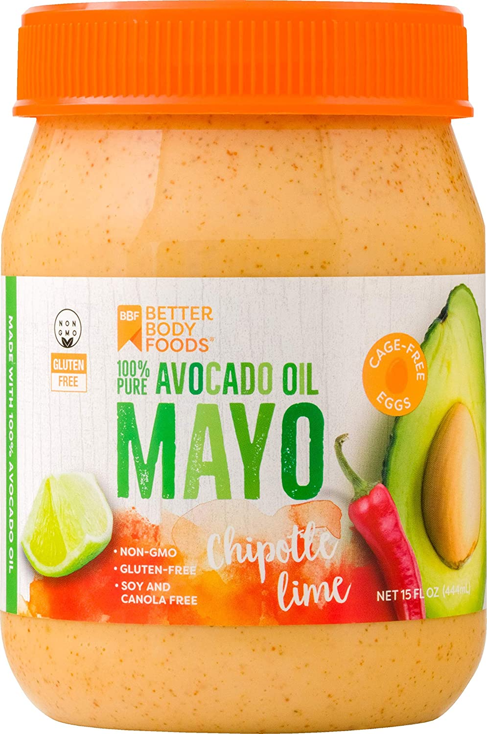 BetterBody Foods Avocado Minneapolis Mall Oil Mayonnaise Lime with Chipotle List price Spic