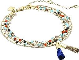 Rebecca Minkoff - Beaded Tri-Layer Bracelet